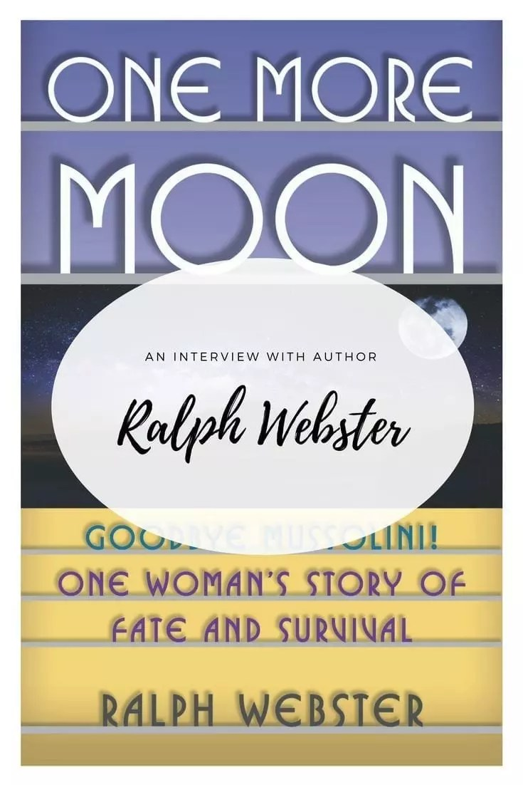 One New Moon by Ralph Webster was released today and he generously answered some questions about the book and his writing.