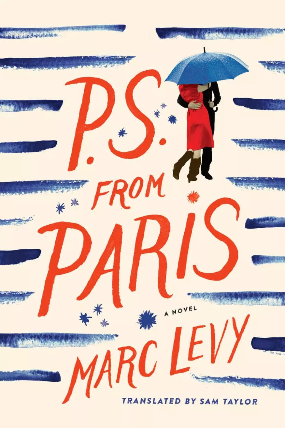 PS from Paris by Marc Levy is a kinda cute, rather soppy, and very predictable romance set in Paris. An author and movie star fall in love. #BookReview