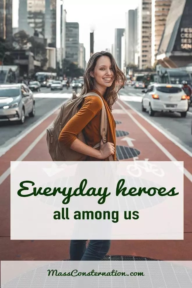 Today I was chatting with a woman in a café who has the most amazing confidence and determination. There are truly heroes among us.