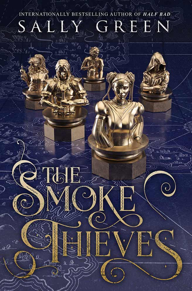 Sally Green's new series: The Smoke Thieves has been released. A fantasy series with five characters and a battle of countries. #YABooks #BookReview #YAFantasy #BritishBooksChallenge18 #Books