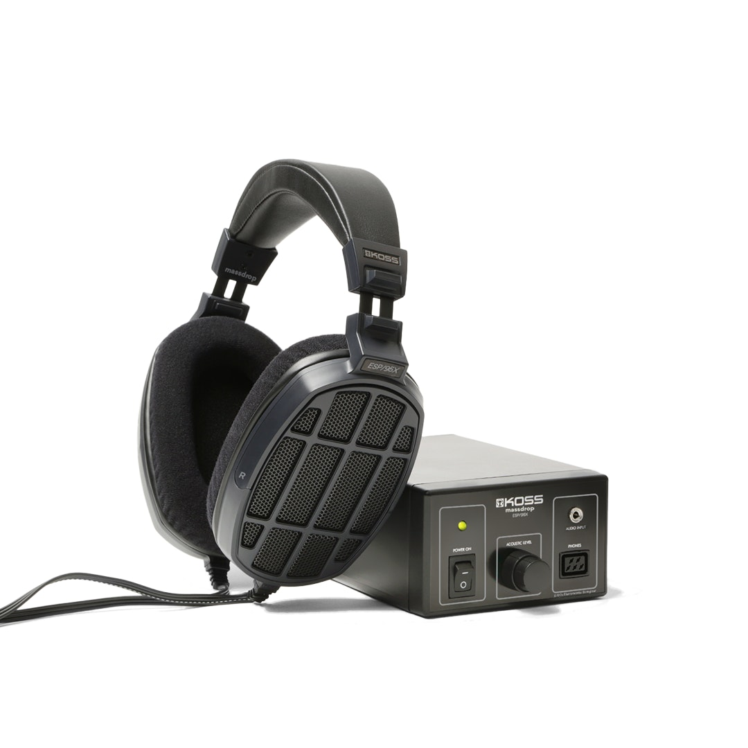 hight resolution of massdrop x koss esp 95x electrostatic system price reviews drop formerly massdrop