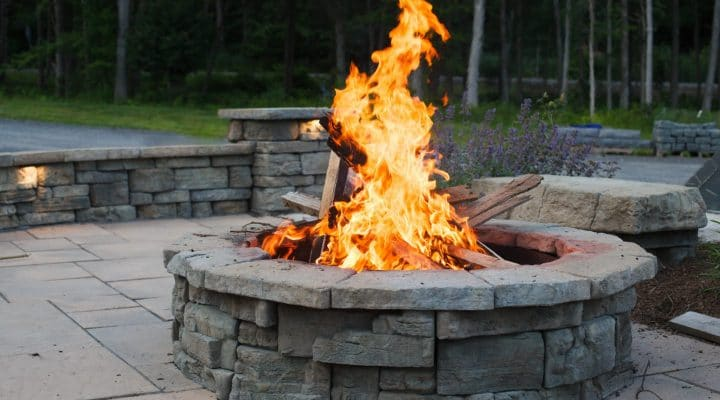 outdoor fire pits how much does a
