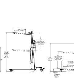 12v electric lift dimensions click on the image to expand and see details dimensional information  [ 4212 x 1731 Pixel ]