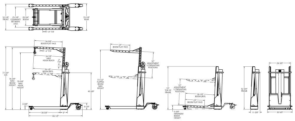 medium resolution of 12v electric lift dimensions click on the image to expand and see details dimensional information