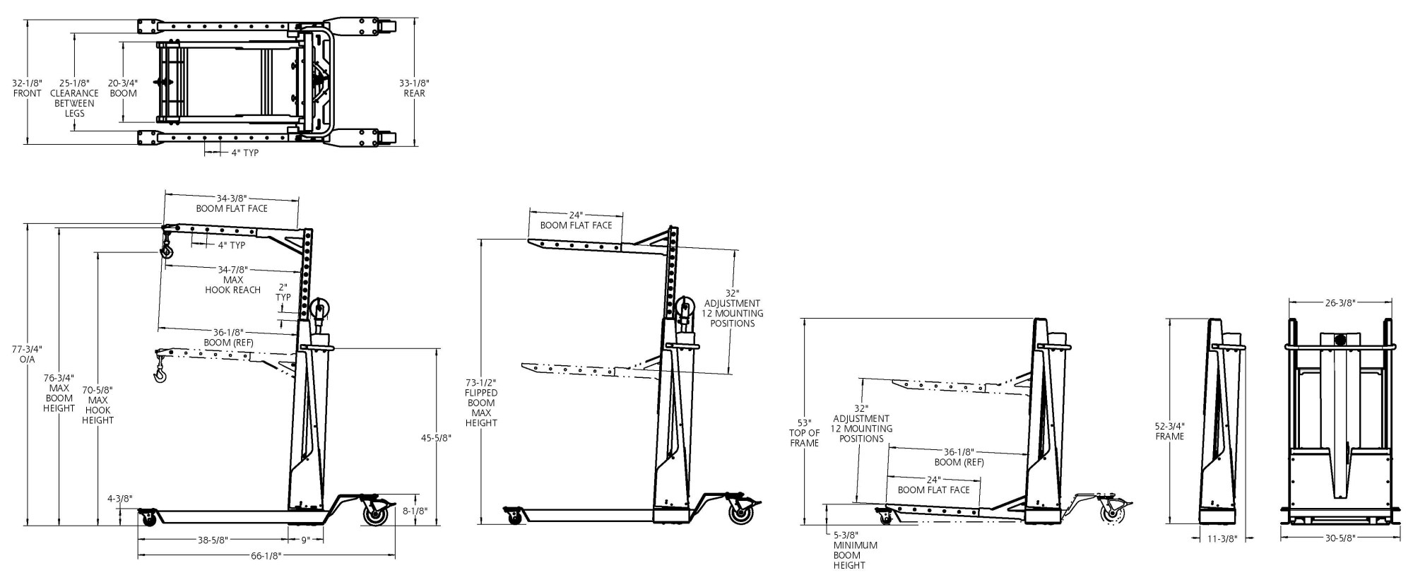 hight resolution of 12v electric lift dimensions click on the image to expand and see details dimensional information