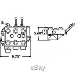 19833a92 New Massey Ferguson Mf Tractor Hydraulic Valve