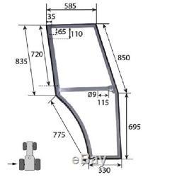 L/h Door Frame Fits Massey Ferguson 350 365 375 390 390