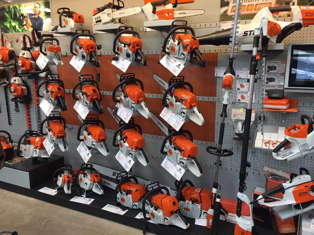 Stihl Chainsaws Buy Your Stihl Petrol Or Electric