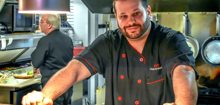 Chef Al Maykel from EVO on Chandler Street in Worcester, MA