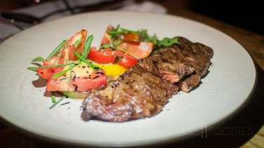 Grilled Skirt Steak from deadhorse hill on Main Street in Worcester, MA