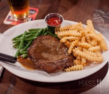 Country Fried Steak at Oak Barrel Tavern
