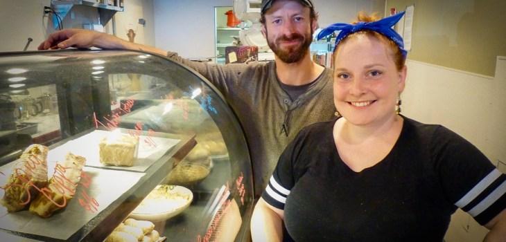 Kummerspeck's Matt Mahoney and Rachel Coit.
