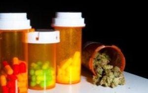 medical marijuana and pills
