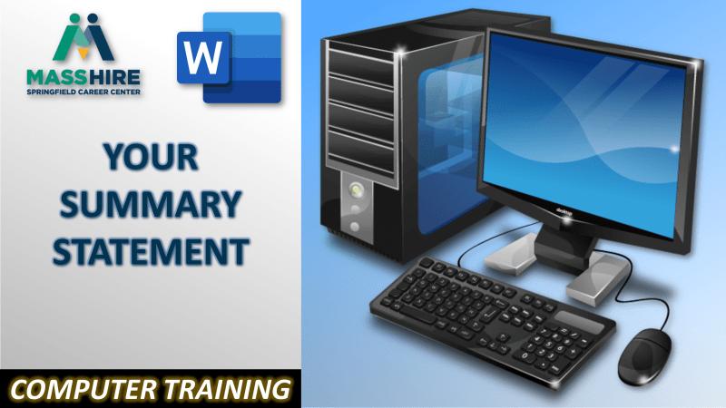 Computer Training 3