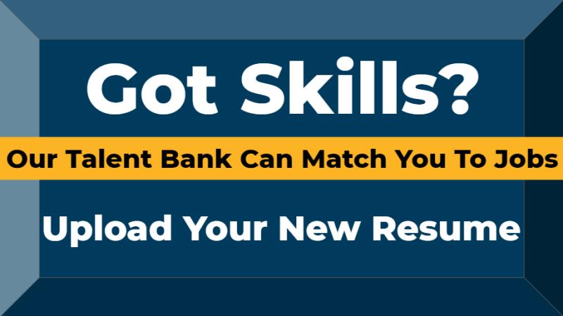 Talent Bank Resume Upload