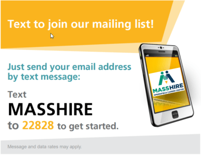 Text To Join Mailing List