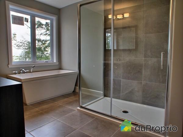 maison neuve bromont salle de bain
