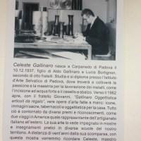 Domenica mostra in memoria del maestro cesellatore - grande artista - Celeste Gallinaro  di Albignasego