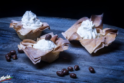 MILLESFOGLIE con CREMA CHANTILLY