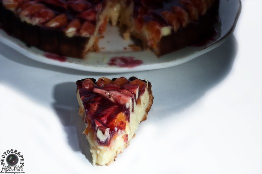 Crostata di frutta con gelatina