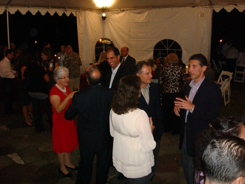 Last year's benefit reception brought smiles to the faces of attendees who enjoyed good food and drinks.