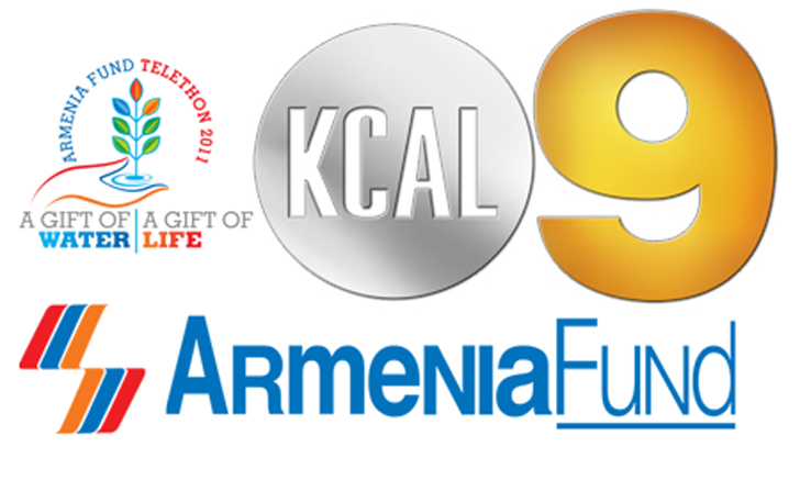 KCAL Channel 9 to Show Armenia Fund Telethon 2011  Armenian News By MassisPost