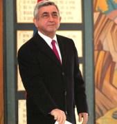 President Serzh Sarkisian