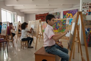 Budding-Artists-in-Their-Studio