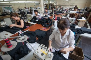 Seamstresses-Producing-New-Clothing