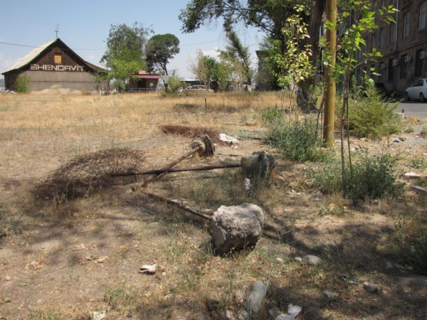 Deliberately destroyed fencing near clinic, fencing material was paid for by CYSCA