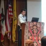 Nor Serount (New Generation) Cultural Association's Chairman, Mr. Harut Der-Tavitian