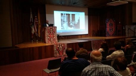 Mr. Hratch Kozibeyokian addressing the attendees