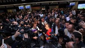 Hakob Injighulian at Zvartnotz airport
