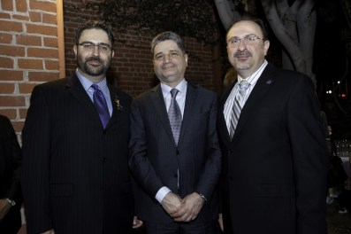 ACA Chair Mr Sevak Khatchadorian with Ambassador of the Republic of Armenia in the United States Tigran Sargsyan and SDHP Western Region Executive Committee member Mr. Mike Khatchadourian
