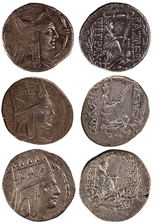 Ancient coins, Bodleian Libraries, University of Oxford/Private collection, reference Bedoukian 20, Bedoukian 19/34, Bedoukian 17/37