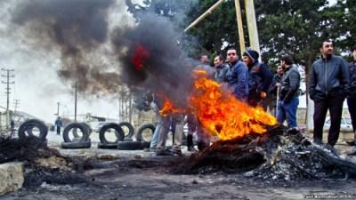 Azerbaijan-Unrest