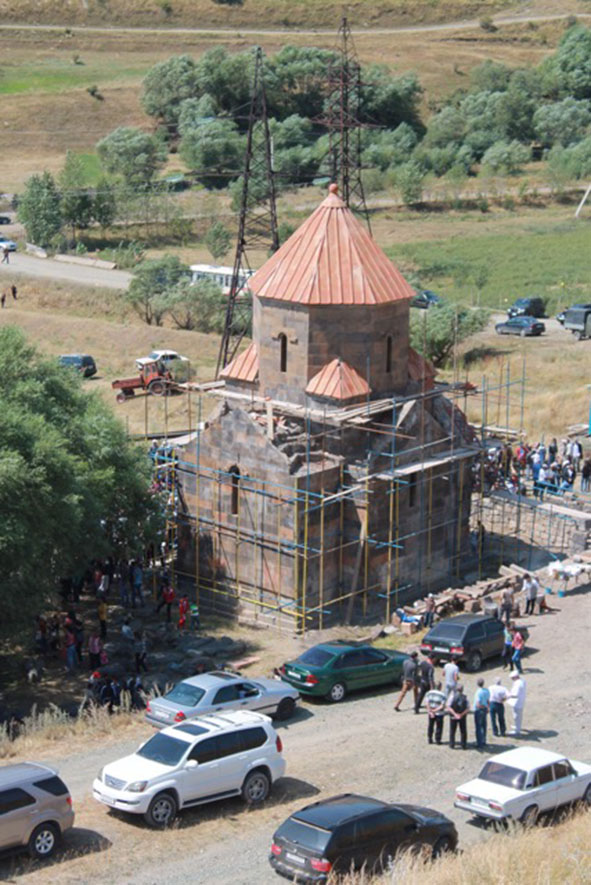 Tchkhanavank Project Completed (1)