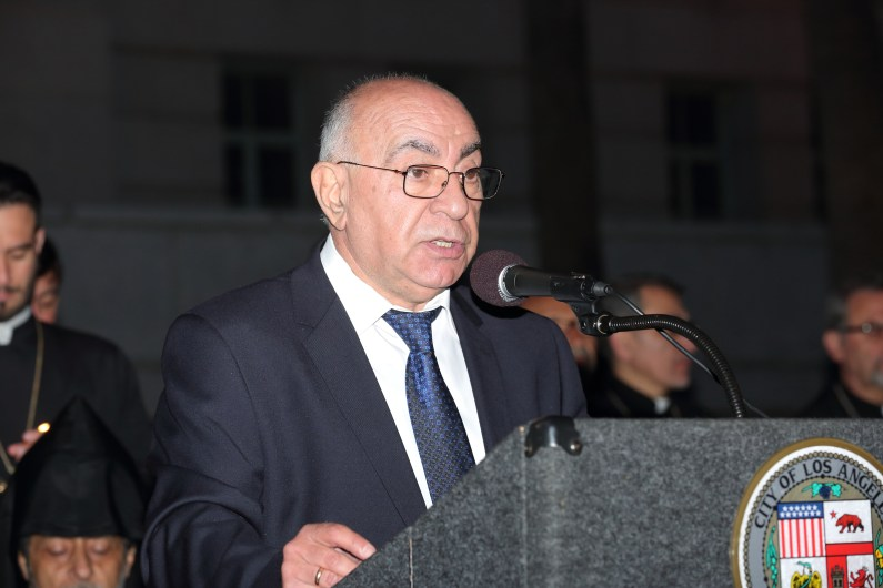 Deputy Consul General Mr. Valery Mkrtoumian - Courtesy ARKA Photo