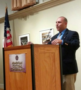 Keynote speaker Dr. Matthew Ari Jendian