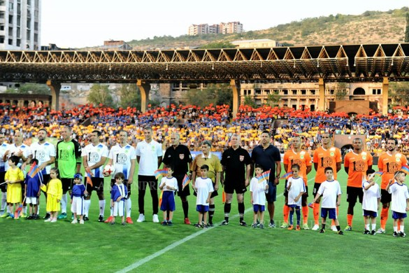 Rivaldo, Figo, Djorkaeff and Others: Football Legends Meet in Armenia