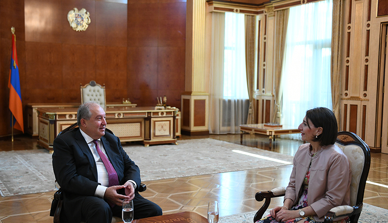 New South Wales Premier Gladys Berejiklian Meets with PM