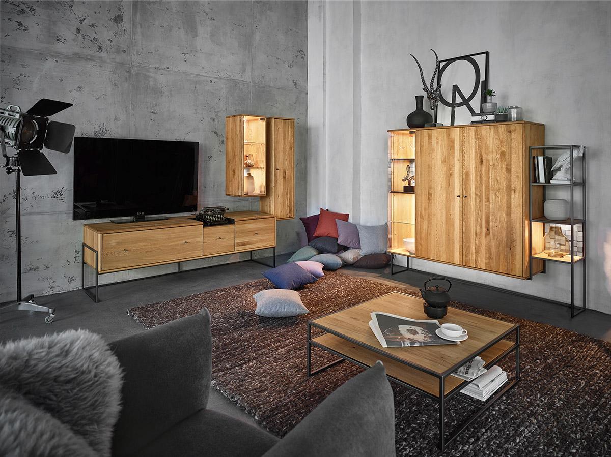 Moderne Eichenmöbel Wohnzimmermobel Massivholz Gorgeous