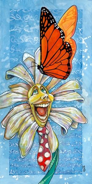 Happy Daisy | Original Artwork by Miles Davis | Massive Burn Studios