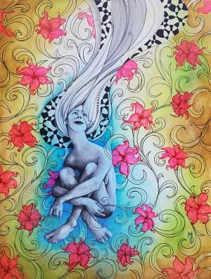 Win this Painting! Miles Davis Original Painting Raffle