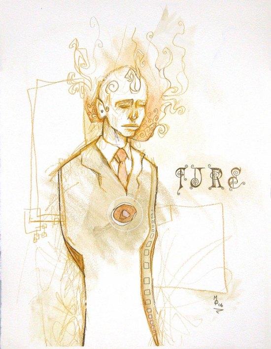 FIRE   Original Art by Miles Davis   Massive Burn Studios