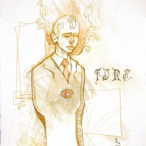 FIRE | Original Art by Miles Davis | Massive Burn Studios