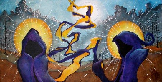 The Messengers | Original Art by Miles Davis | Massive Burn Studios
