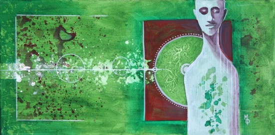 Immune to the Poison | Original Art by Miles Davis | Massive Burn Studios