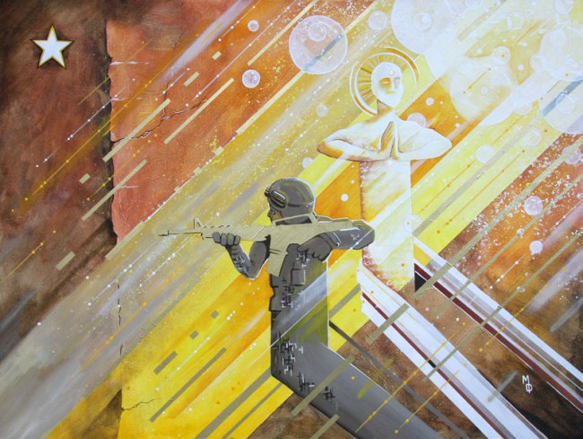 The Patriot | Original Art by Miles Davis | Massive Burn Studios