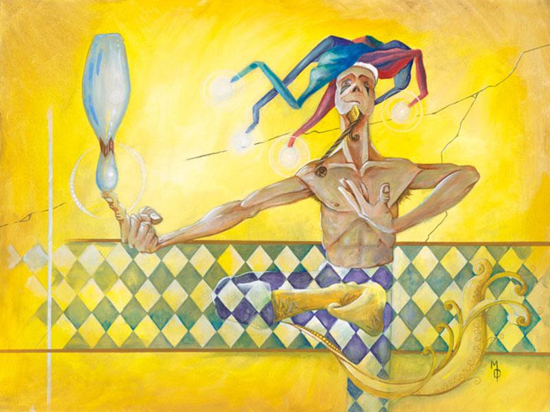 The Showoff | Original Art by Miles Davis | Massive Burn Studios